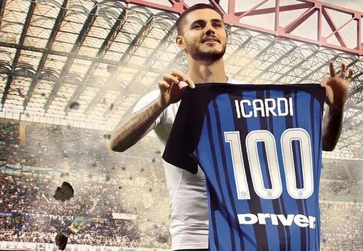 El Inter de Milán venció este domingo al Sampdoria y se colocó cuarto de la Serie A. (@Inter)