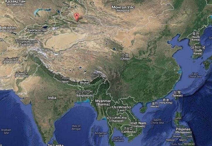 El más reciente atentado en Xinjiang se da en el marco del malestar de algunos sectores de musulmanes uishures que desean autonomía de Beijing.  (Google Maps)