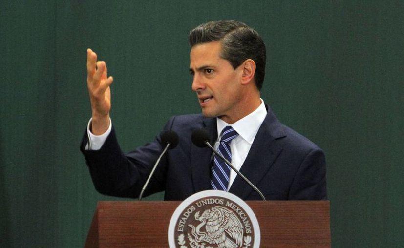 Peña Nieto indicó que el tequila mexicano llega actualmente a 120 países de los cinco continentes. (Notimex)