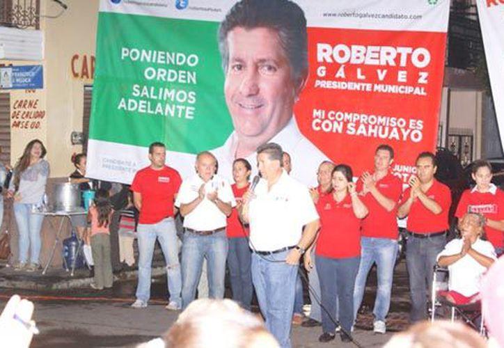 Baleado ex candidato en Sahuayo, Michoacán. (voxpopulis.com)