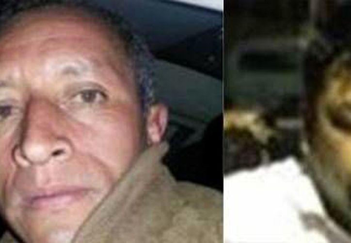 Bernardo Sánchez Espíndola (i) y Mario Martínez López fueron delatados por una denuncia ciudadana. (Milenio)