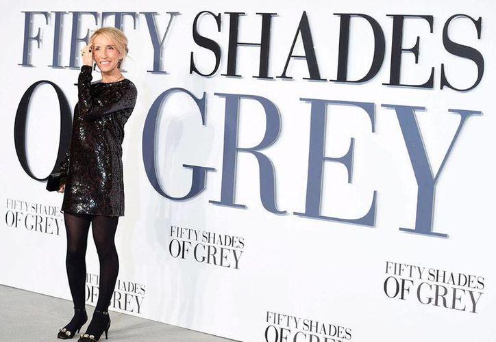 Sam Taylor-Johnson, directora de la película 'Fifty shades of Grey', dijo que no hará la segunda parte de la cinta. (Efe/Archivo)