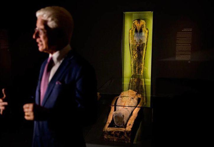 Israel exhibirá una momia, de 2,200 años de antigüedad, a la que se le 'diagnosticaron' enfermedades 'propias' del siglo pasado y del presente, algo que sorprendió a los científicos. (AP)