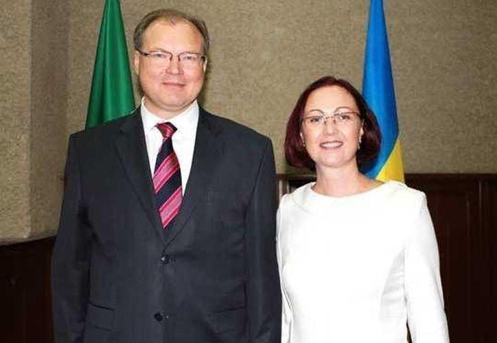 el embajador de la nación europea en nuestro país, Ruslan M. Spirin, dio a conocer detalles sobre las inversiones. (Cortesía)