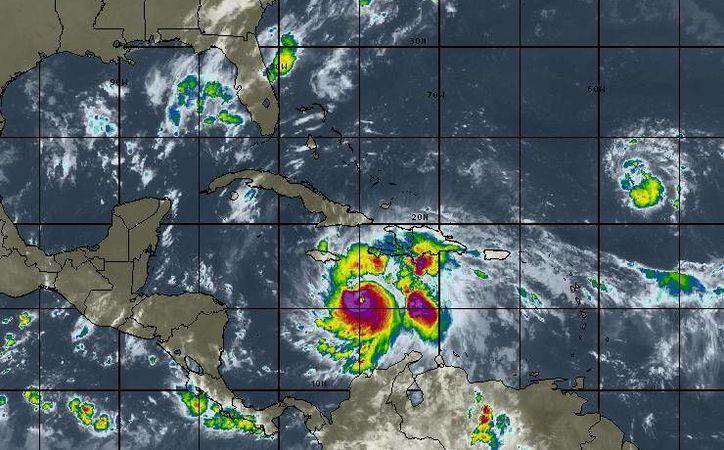 Se espera cielo nublado, con 30 por ciento de probabilidad de lluvias en Cancún. (Intellicast)
