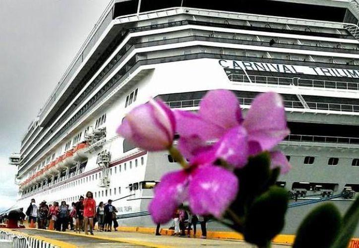 La próxima semana habrá crucero dos días consecutivos en Progreso. (Óscar Pérez/SIPSE)