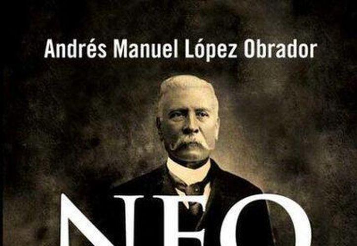 En su libro, López Obrador expone que el modelo neoliberal ha servido solamente para unos cuantos. (Twitter.com/@lopezobrador_)
