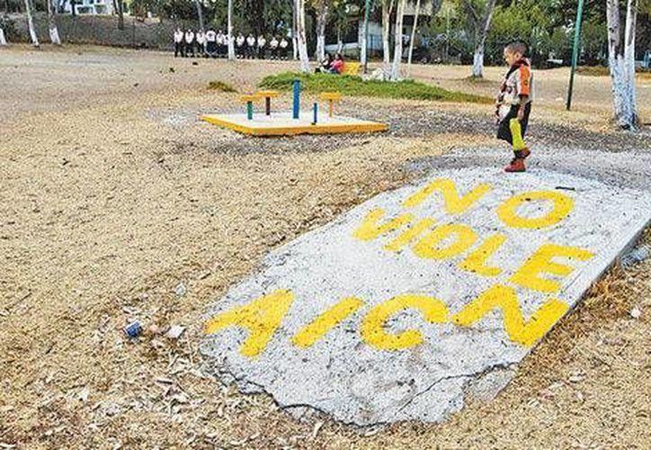 En una reunión de scouts en el Parque de las Américas se hizo un llamado a la no violencia. (Milenio Digital)