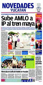 Sube AMLO a Ip al tren maya