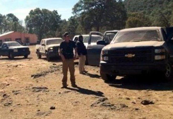 Tras el enfrentamiento en Chihuahua hay tres detenidos. (Twitter).