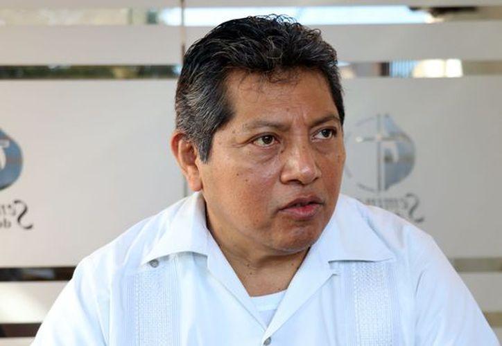 Pbro. Gilberto Pérez Ceh. (Foto: Daniel Sandoval/ Milenio Novedades)