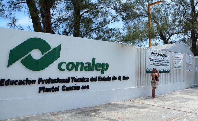 El Conalep aplicará la prueba Planea a los estudiantes. (Victoria González/SIPSE)