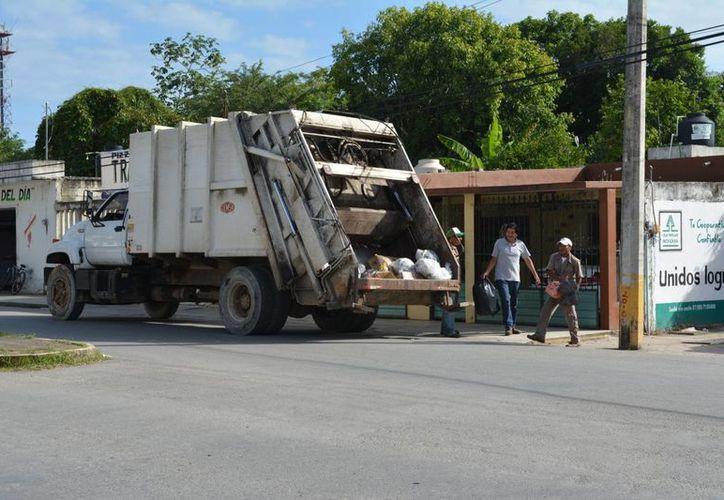 La nueva manera de recolectar basura en algunas colonias podría ser implementada a toda la ciudad. (Manuel Salazar/SIPSE)