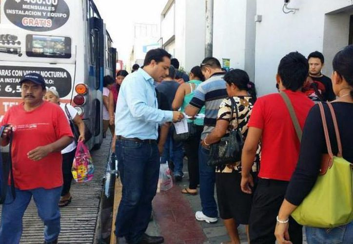 Mauricio Vila Dosal considera que tiene suficientes simpatías, incluso por arriba de otros panistas, para buscar la candidatura del PAN a la alcaldía de Mérida. (SIPSE)