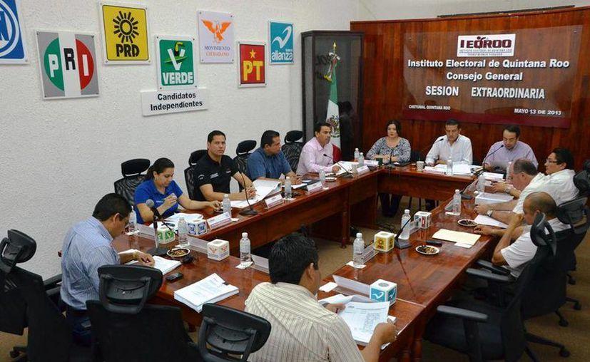 El Consejo General del Instituto Electoral de Quintana Roo. (Redacción/SIPSE)