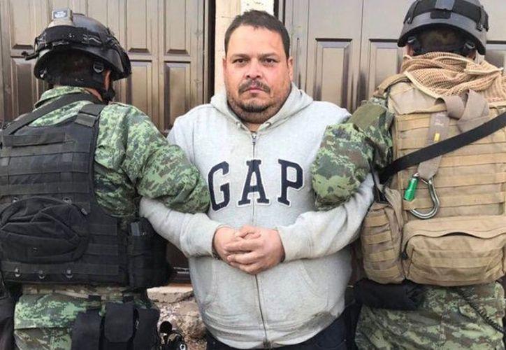 Tras una persecución de más de cinco horas en la Sierra Madre del Sur, atraparon a José Antonio Romo. (Foto: Excélsior)