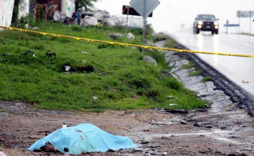 En Michoacán, junto a los cadáveres se halló un mensaje. (Imagen de contexto/Archivo/Agencias)