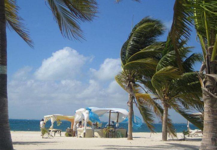 Isla Mujeres, escogido por su belleza natural. (Israel Leal/SIPSE)