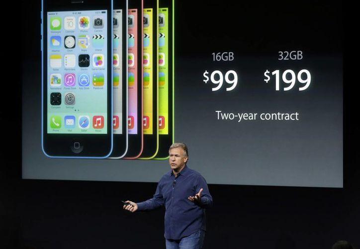 Phil Schiller durante la presentación del nuevo iPhone 5. (Agencias)