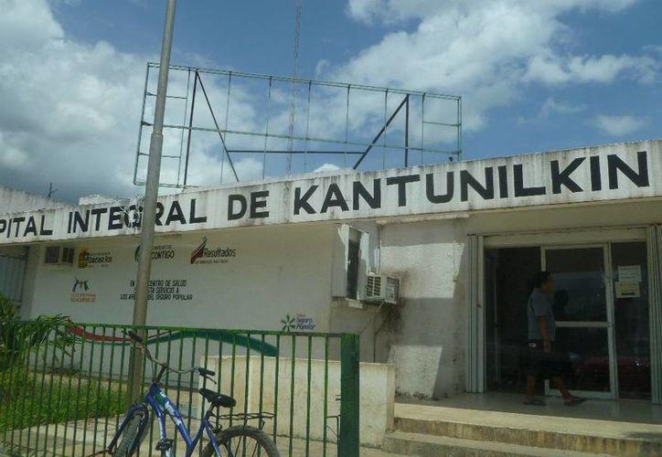 Las actividades se desarrollaron a un costado de las oficinas del Conafe. (Raúl Balam/SIPSE)