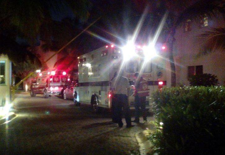 Un menor de edad falleció ayer por la noche en un alberca dentro de Playacar. (Redacción/SIPSE)