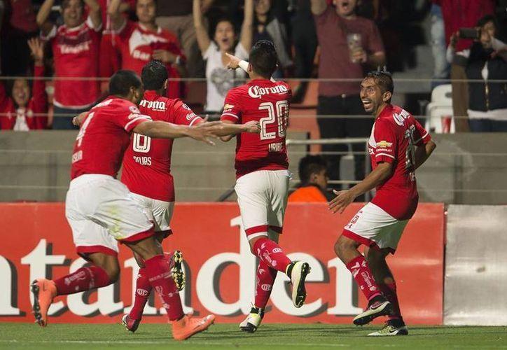 Con un doblete a los 82 y 88 minutos, el Toluca venció este martes a San Lorenzo, en la fecha cinco de la Copa Libertadores. (Facebook: Toluca)