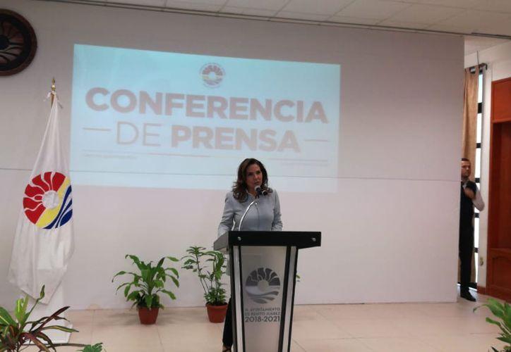 Durante una conferencia de prensa, la alcaldesa compartió la información del nombramiento de Capella. (Redacción)