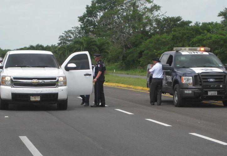La Policía Estatal de Caminos vigilará las zonas rurales del municipio de Bacalar y del resto de la entidad. (Javier Ortiz/SIPSE)