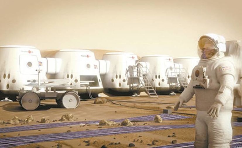 Una empresa holandesa  planea enviar una tripulación amateur de astronautas en una misión a Marte sin regreso a la Tierra. (Milenio)