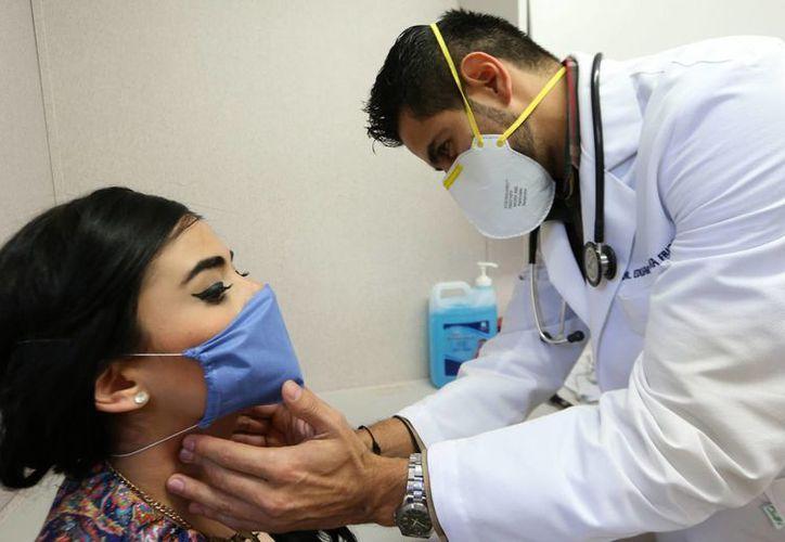 En 2009, todo México sufrió un notable incremento de casos de influenza AH1N1. Este domingo, el INAH ordenó a la Secretaría de Salud hacer pública la información sobre esa pandemia. (Archivo/EFE)