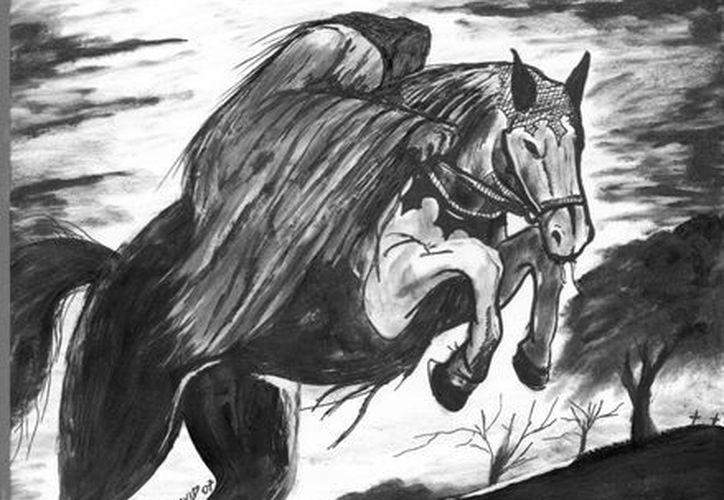 Varias personas aseguran haber visto al jinete fantasma que aún busca venganza, en el Camino Real. (Jorge Moreno/SIPSE)