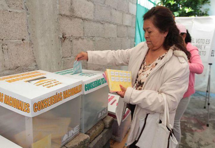 El INE indicó que un 41 por ciento de los perredistas participaron en la elección de consejeros municipales y estatales. (Archivo/Notimex)