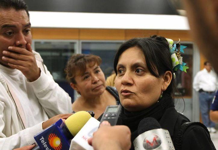 La ciudadana mexicana Nasra Abdulaziz Bashiry pudo salir de Yemen, cuya situación política se deteriora cada vez más, para trasladarse a México. (Notimex)