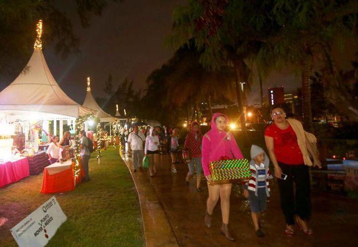 Los eventos se realizan en el Jardín del Arte, en el kilómetro 4.2 de la zona hotelera. (Luis Soto/SIPSE)
