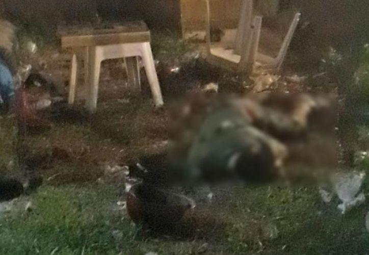 Dos de las cuatro víctimas mortales eran hermanos. (Foto: Redacción/SIPSE).