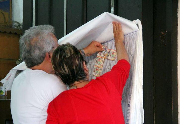 Los yucatecos son tradicionalmente afortunados en los sorteos que realiza la Lotería Nacional. (José Acosta/SIPSE)