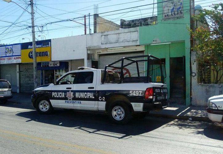 El dueño fue quien reportó los hechos a las autoridades policíacas. (Eric Galindo/SIPSE)