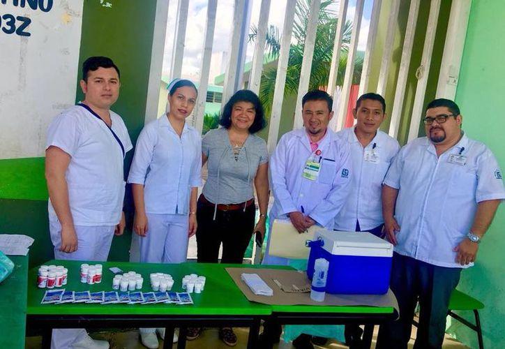 El IMSS instalará 357 puestos de vacunación en toda la entidad. (IMSS Yucatán)