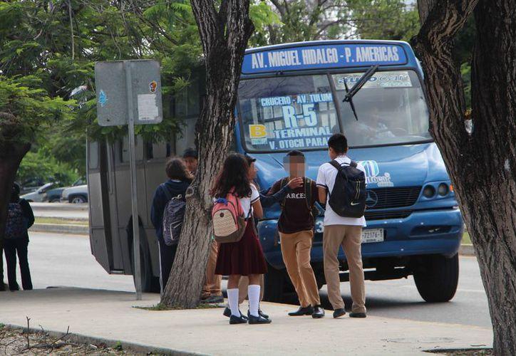 Indican que las conductas agresivas entre alumnos son tomadas como algo normal. (Paola Chiomante/SIPSE)
