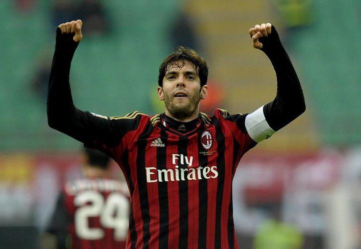En la imagen, el centrocampista brasileño Kaká. (EFE/Archivo)