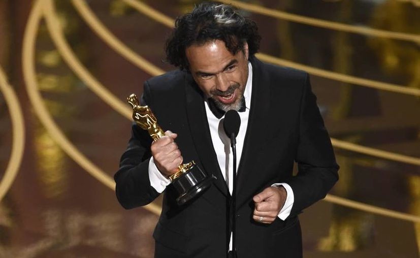 Alejandro González Iñárritu ganó el Oscar a Mejor Director por 'The Revenant'. El año pasado el mexicano había logrado el prestigiado ganador por 'Birdman'. (AP)