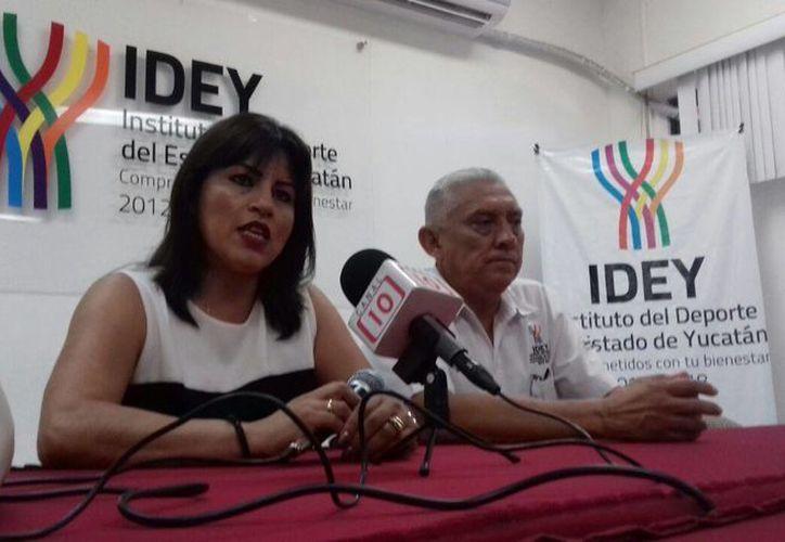 María Eugenia Figueroa Chan, de Yucatán, fungirá como juez internacional de gimnasia rítmica en Rio 2016. (Milenio Novedades)