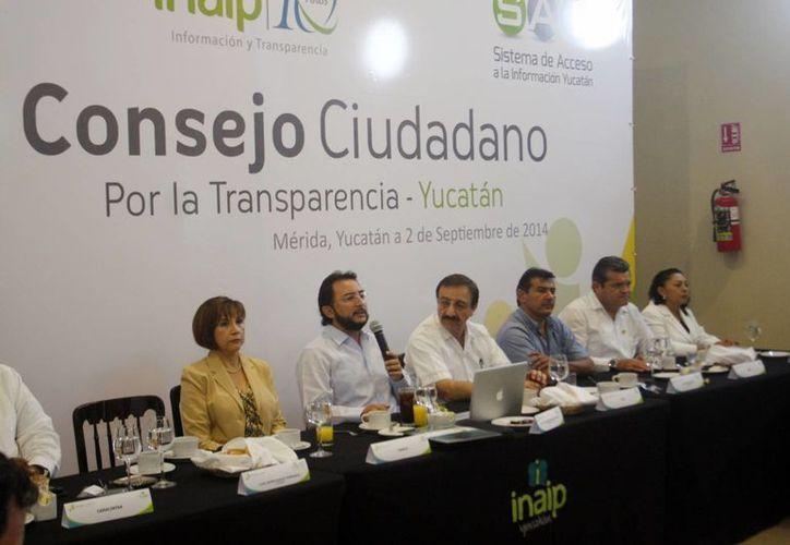 Traconis Flores, rindió ayer un informe en el marco de la cuarta reunión del Consejo Ciudadano del Instituto, en el que destacó las acciones realizadas en el tiempo que estuvo al frente del Inaip. (Milenio Novedades)