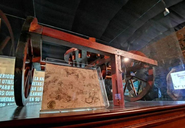 """Habrá 30 máquinas traídas directamente del Museo """"Leonardo da Vinci"""" en Italia. (Foto: redes sociales)"""