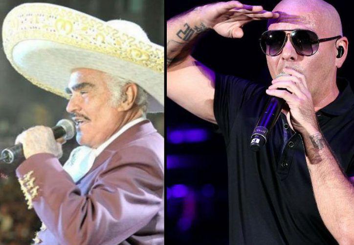 Pitbull quiere ampliar su lista de colaboraciones. (Televisa Espectáculos).