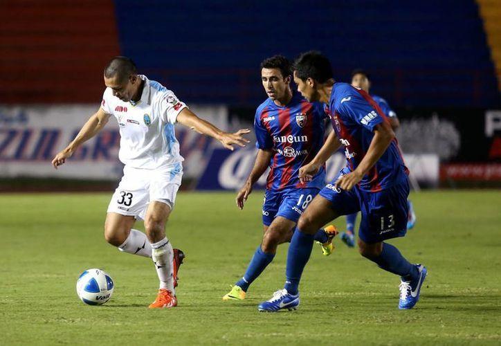Ángel Sepúlveda y Alberto García pusieron al Atlante 2-0 ante el CF Mérida apenas transcurrida media hora de juego del duelo de Copa MX. (Milenio Novedades)