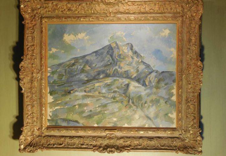 'La Montagne Sainte-Victoire vue du bosquet du Château Noir', de Cezanne, fue vendida a un comprador privado por 100 millones de dólares. (Foto: AP)