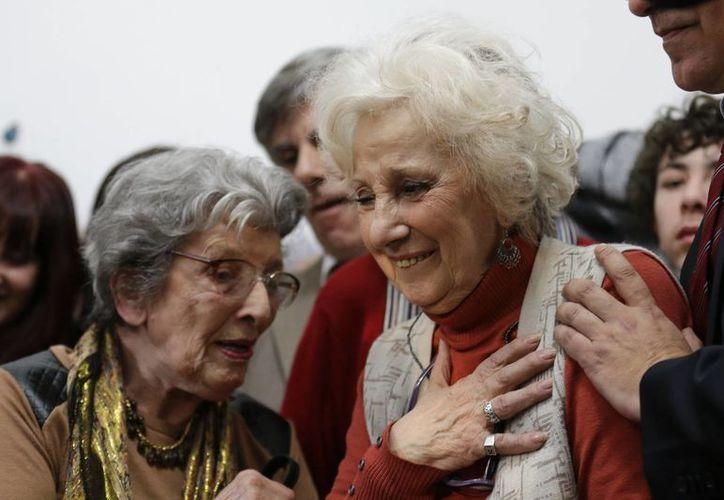 Estela Barnes de Carlotto, fundadora del movimiento Abuelas de la Plaza de Mayo. (AP)