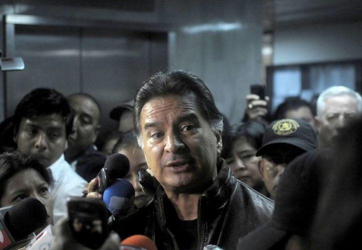 """""""Voy con buena fe y voy a defenderme con todo lo que tengo"""", declaró Portillo. (Archivo/EFE)"""
