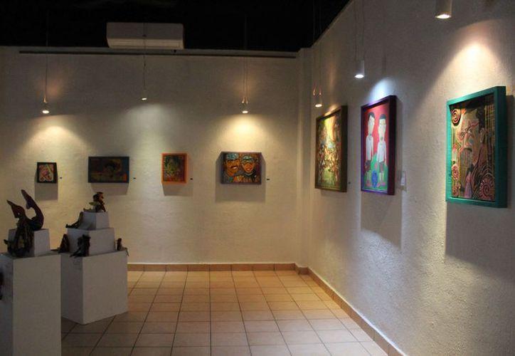 Expondrán diversos trabajos como cerámica, pintura, dibujo y fotografía. (Faride Cetina/SIPSE)